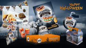 Dawn Halloween - Foodstijl
